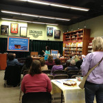 The venue at Vroman's Bookstore.