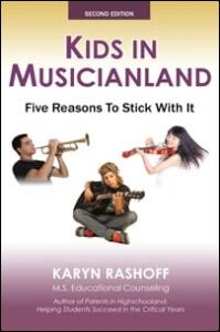 Book cover Kids in Musicianland by Karyn Rashoff, 2nd Edition